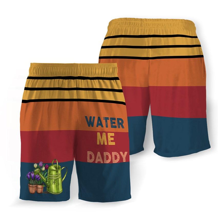 Water me daddy hawaiian shorts 1