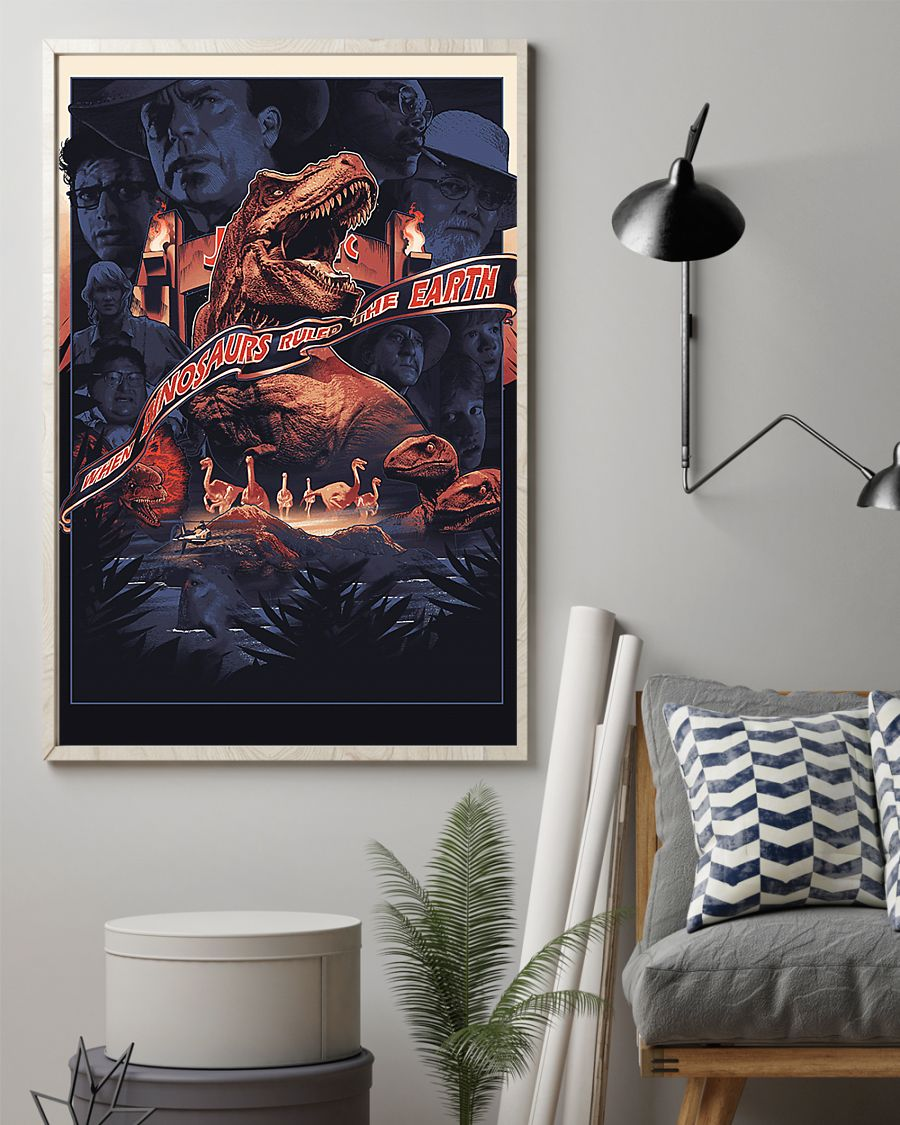 When dinosaurs ruled the earth poster 2