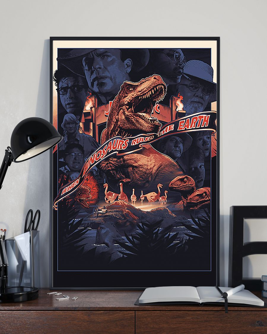 When dinosaurs ruled the earth poster 4