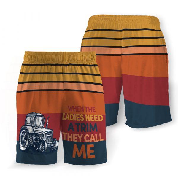 When the laddies need a trim hawaiian shorts 1