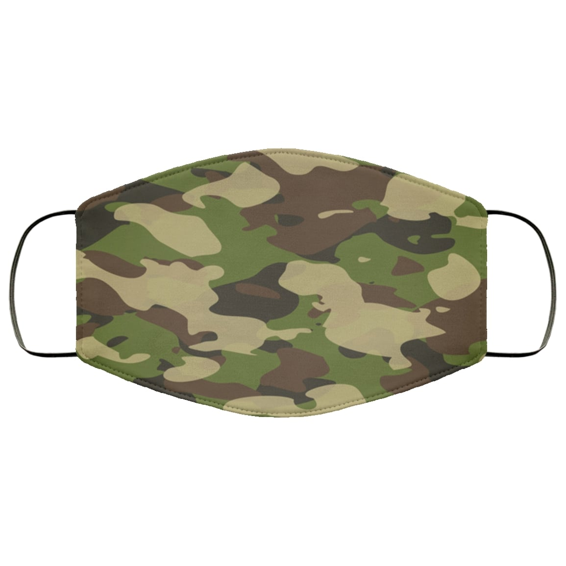 Camouflage army military anti pollution face mask 1