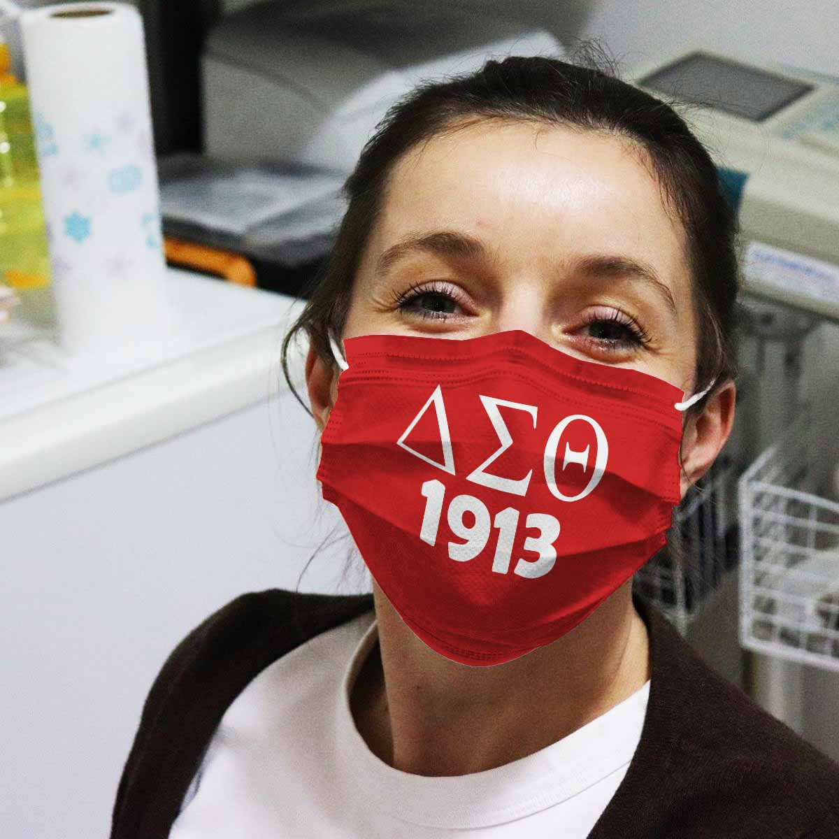Delta sigma theta 1913 anti pollution face mask 3