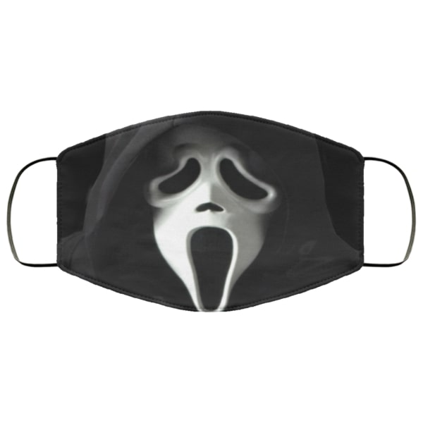 Ghostface mouth anti pollution face mask 2