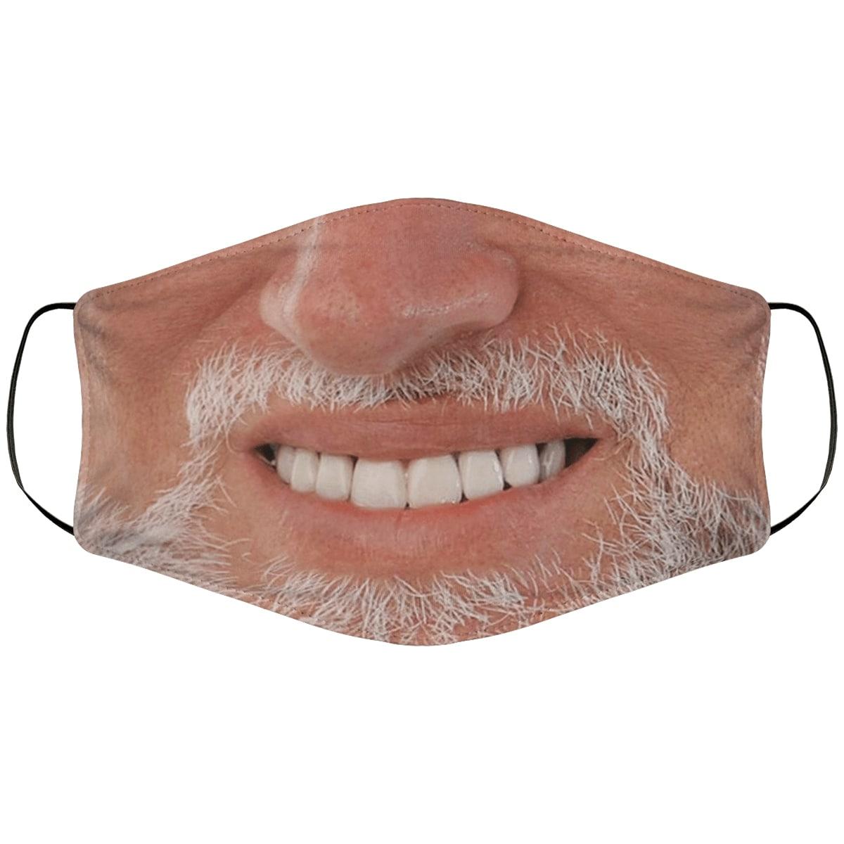 Hide the pain harold meme anti pollution face mask 3