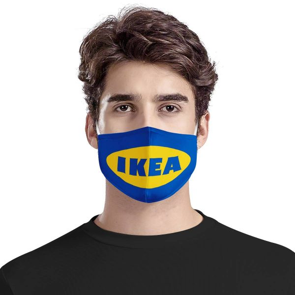 Ikea symbol all over printed face mask 1
