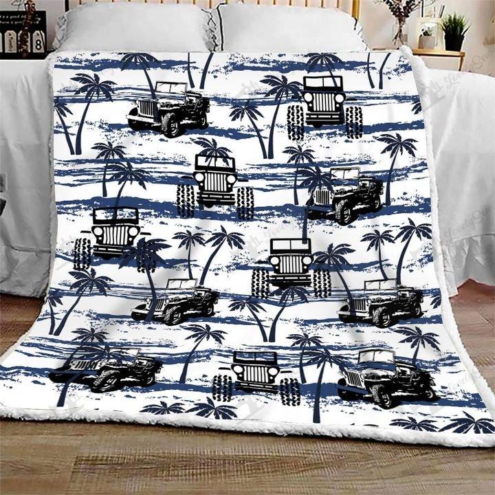 Jeep hawaiian full printing blanket 2
