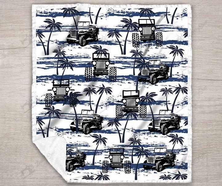 Jeep hawaiian full printing blanket 3
