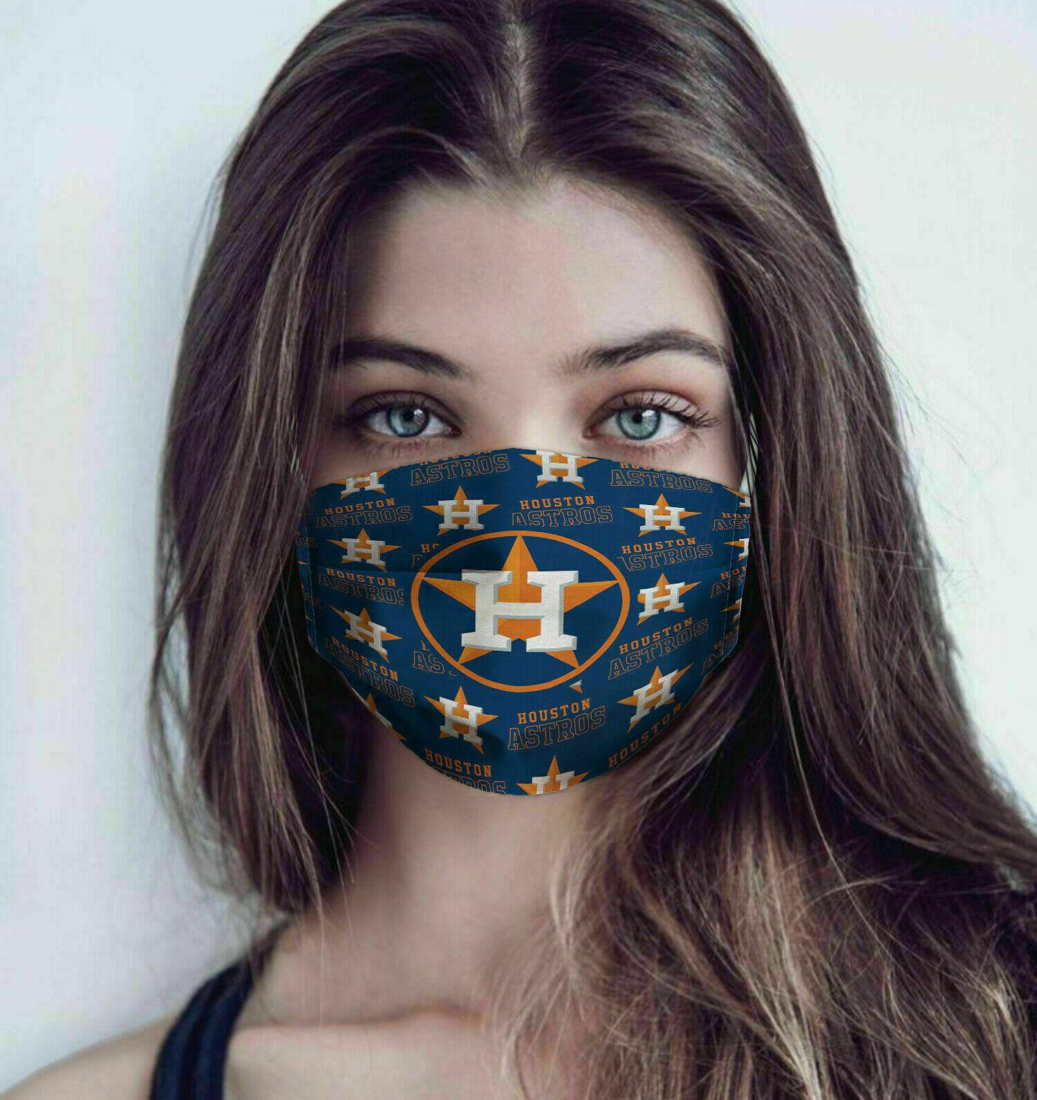 MLB houston astros anti pollution face mask 2