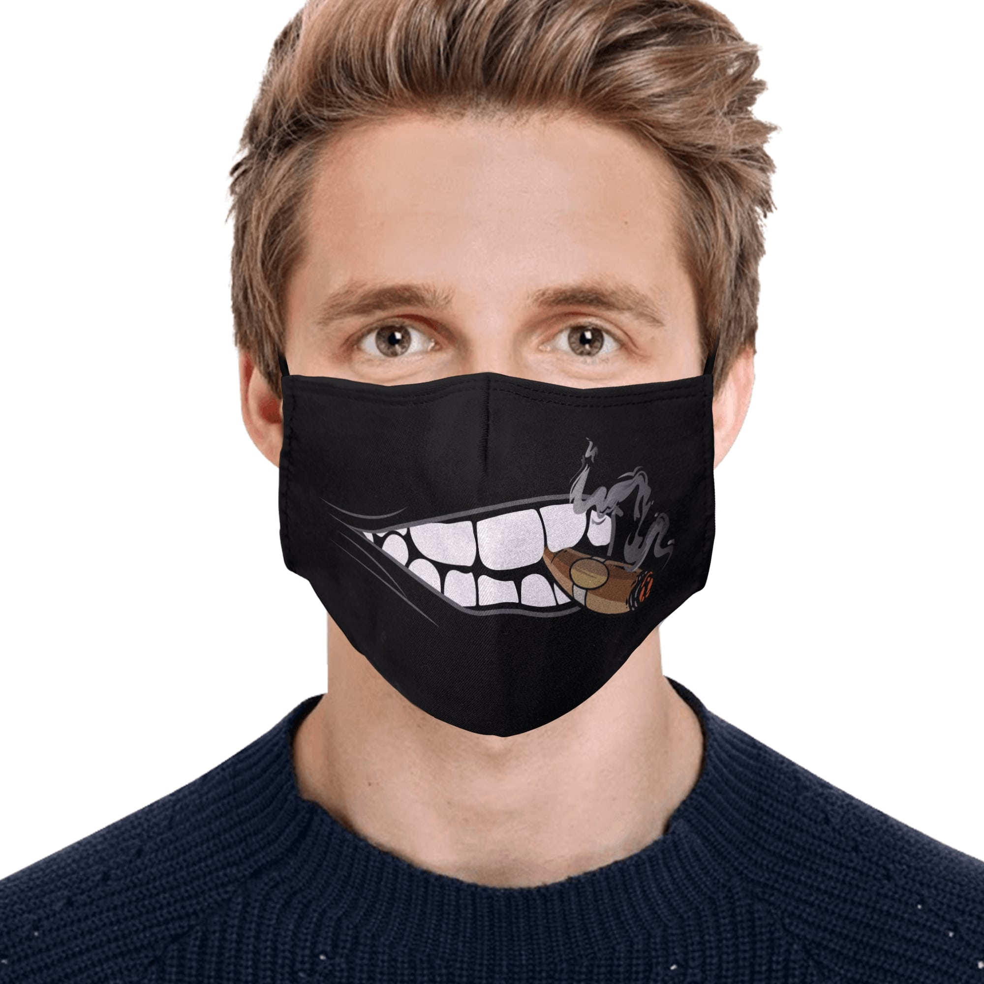 Mouth and cigar anti pollution face mask 4