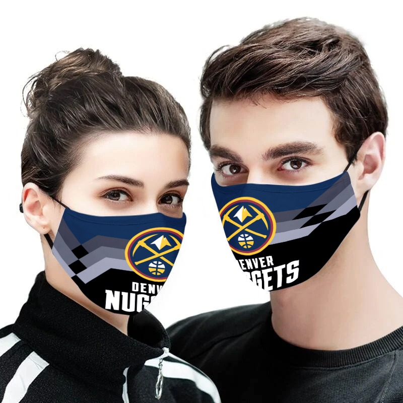NBA denver nuggets anti pollution face mask 4