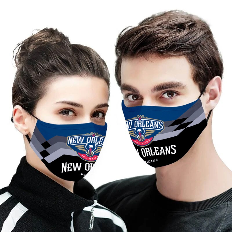 NBA new orleans pelicans anti pollution face mask 1