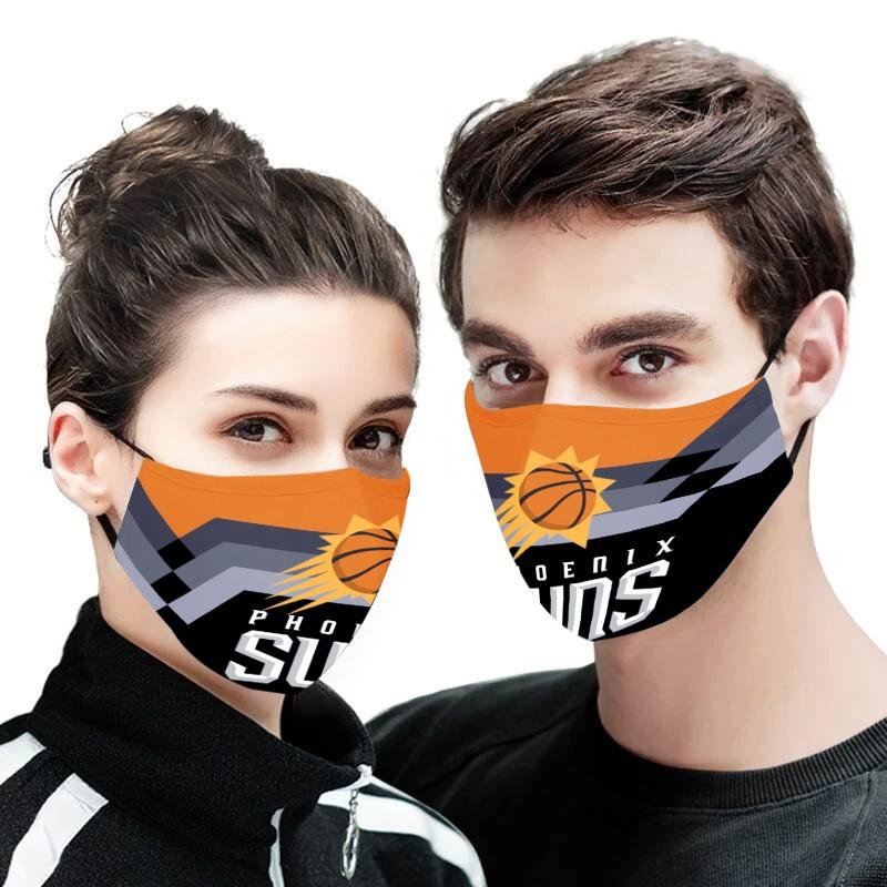 NBA phoenix suns anti pollution face mask 3