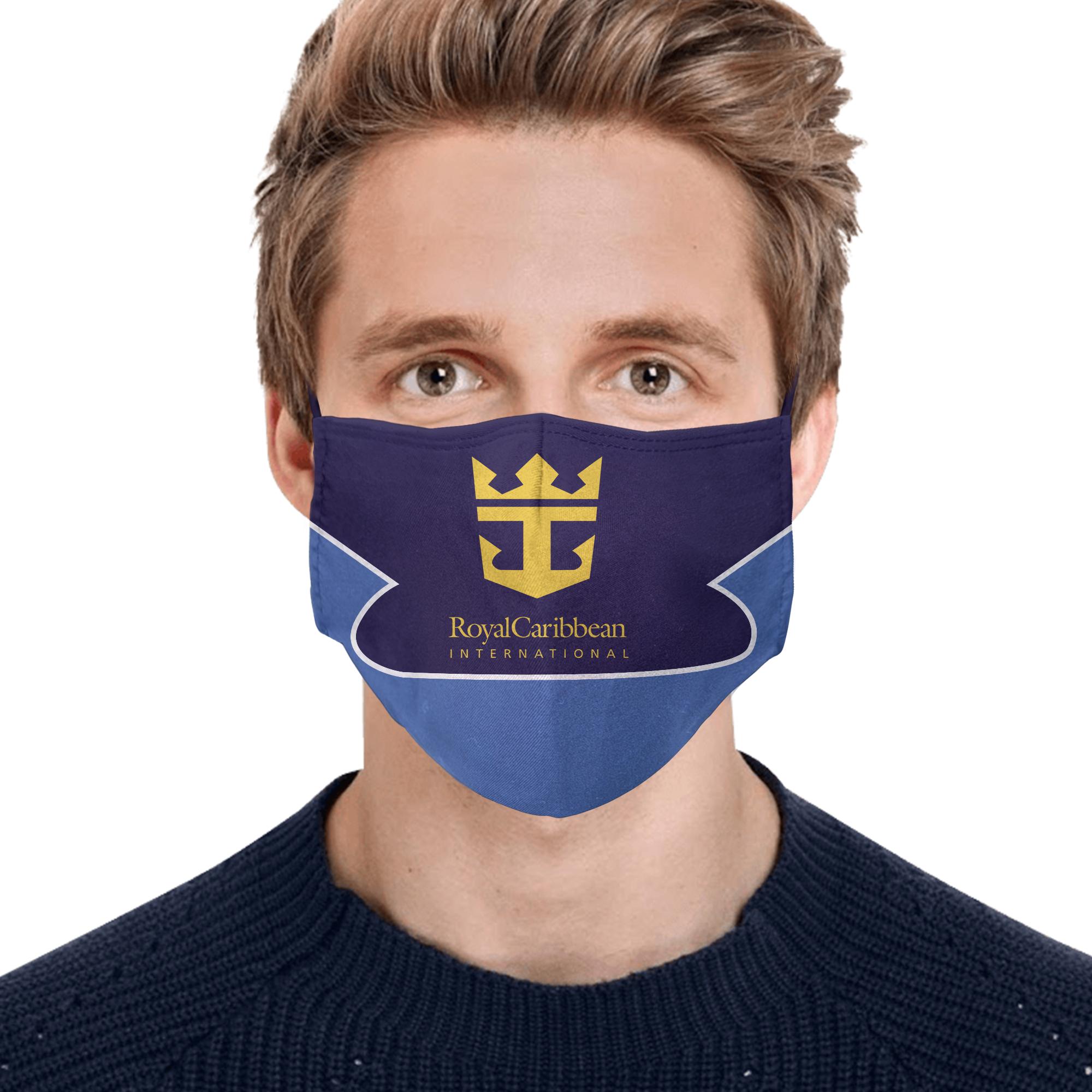 Royal caribbean international full printing face mask 1