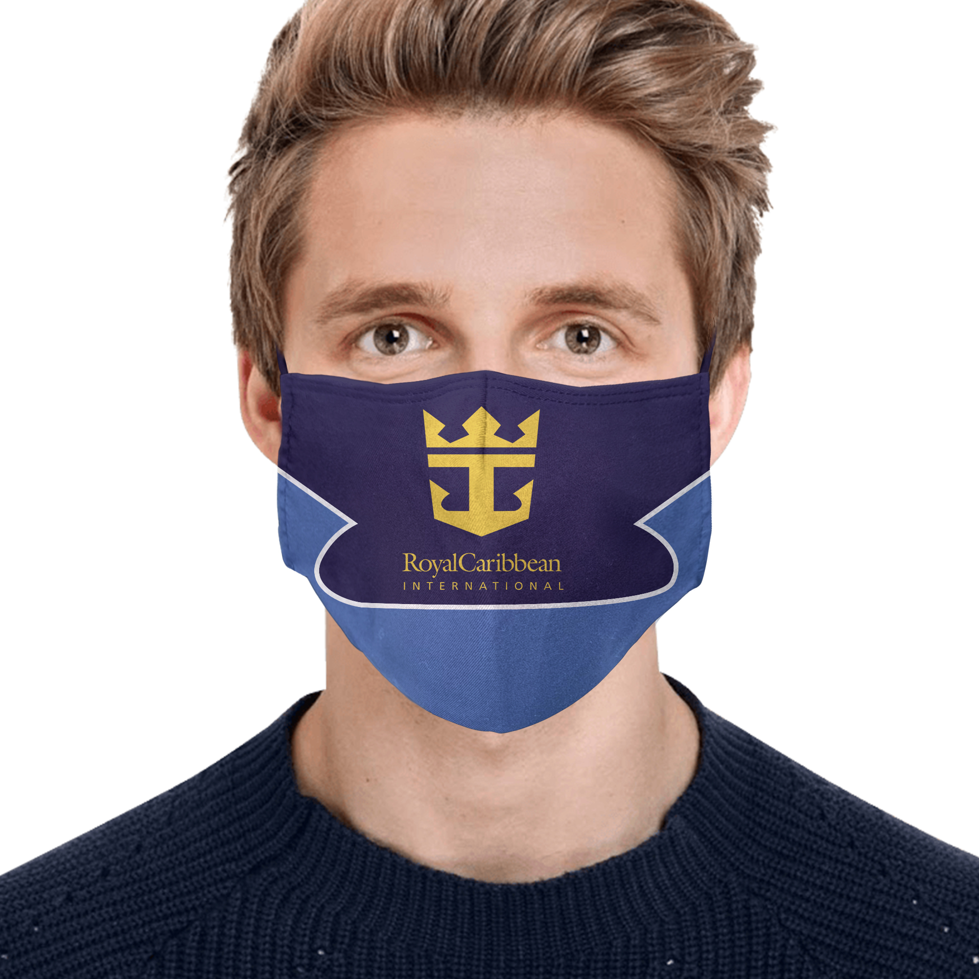 Royal caribbean international full printing face mask 2