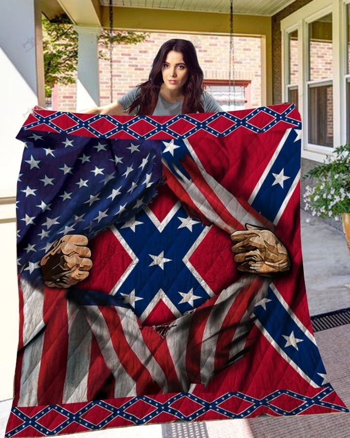The Confederate States Army full printing quilt 1