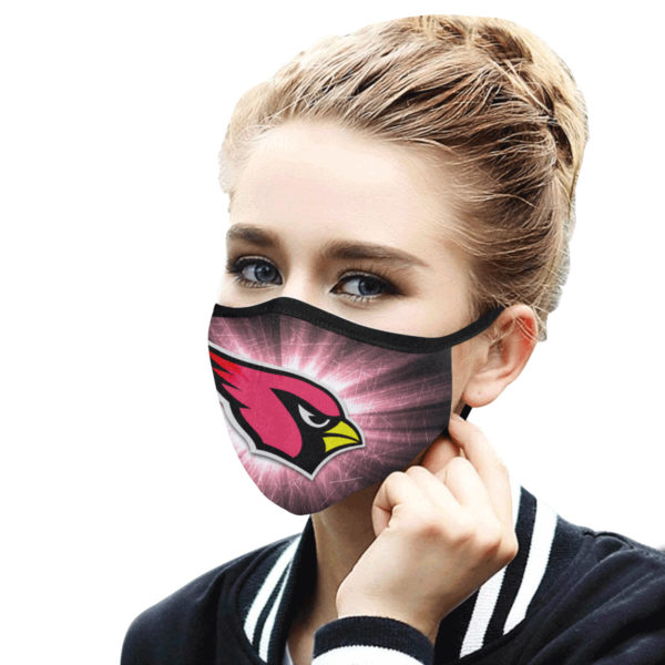 The arizona cardinals team all over printed face mask 2