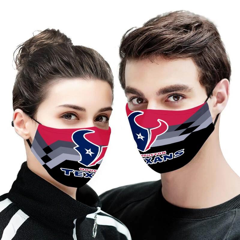 The houston texans anti pollution face mask 3