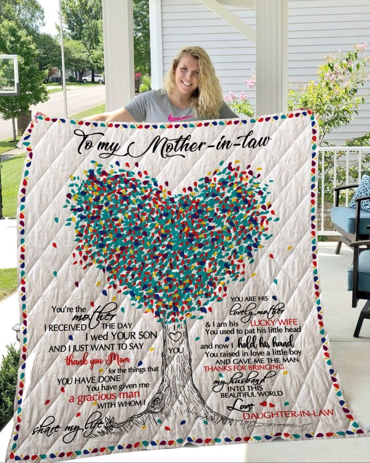 Tree to my mother in law thank you mom quilt 4