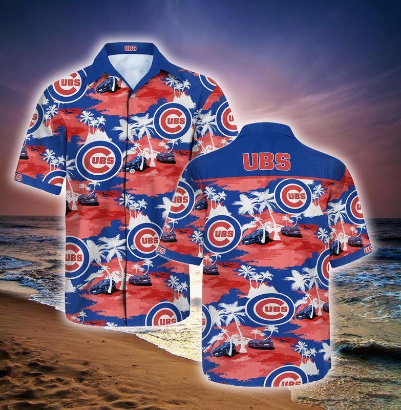chicago cubs full printing hawaiian shirt 1