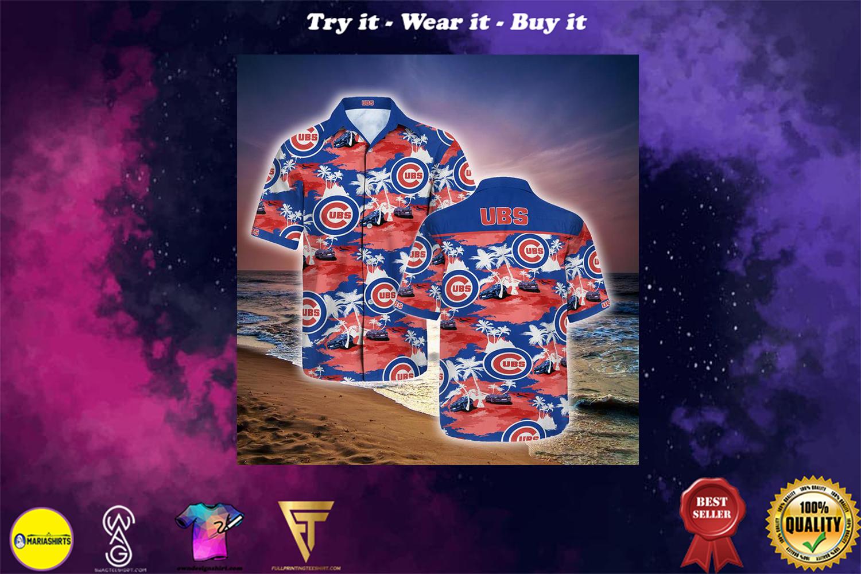 chicago cubs full printing hawaiian shirt - Copy