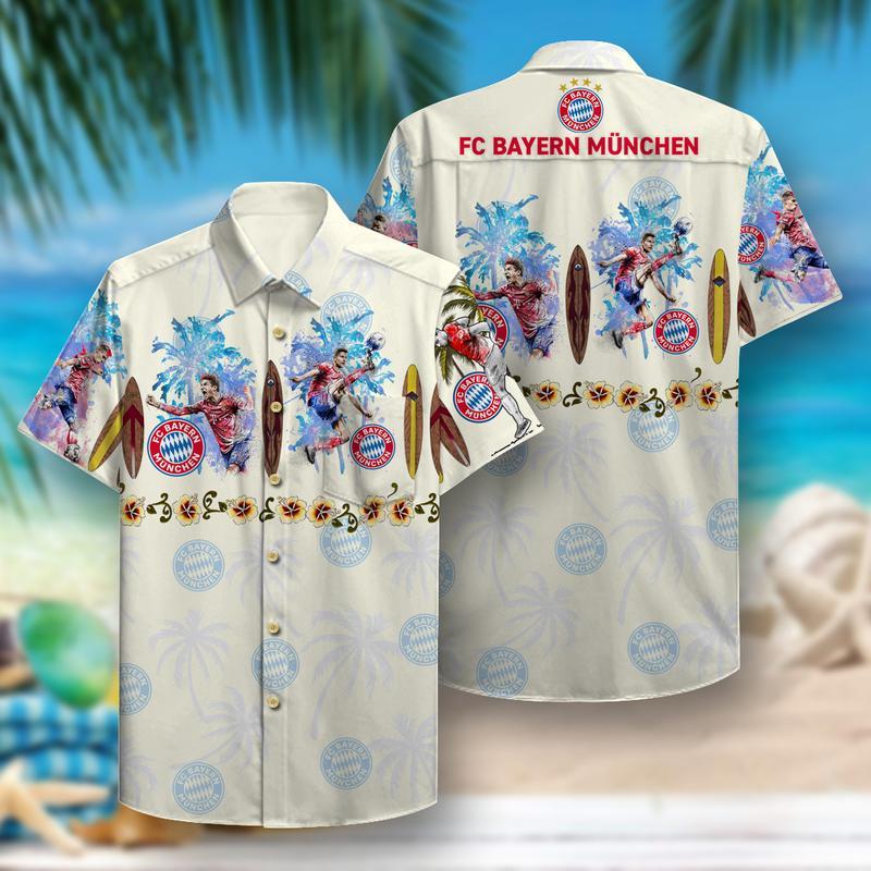 fc bayern munich aloha tropical full printing hawaiian shirt 1 - Copy