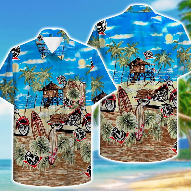 kawasaki vulcan drifter motorcycles full printing hawaiian shirt 1 - Copy