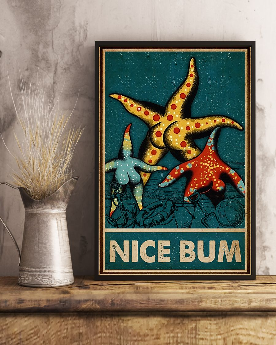 starfish nice bum vintage poster 4