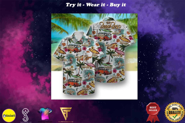the beach boys aloha tropical full printing hawaiian shirt - Copy