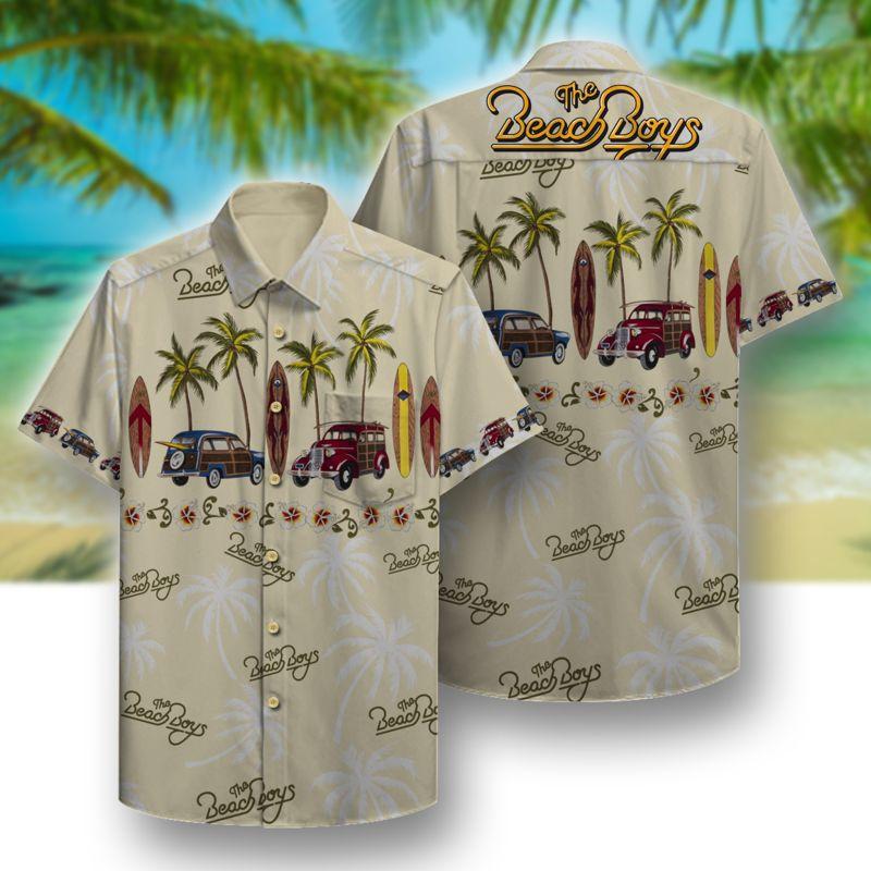 the beach boys full printing hawaiian shirt 1