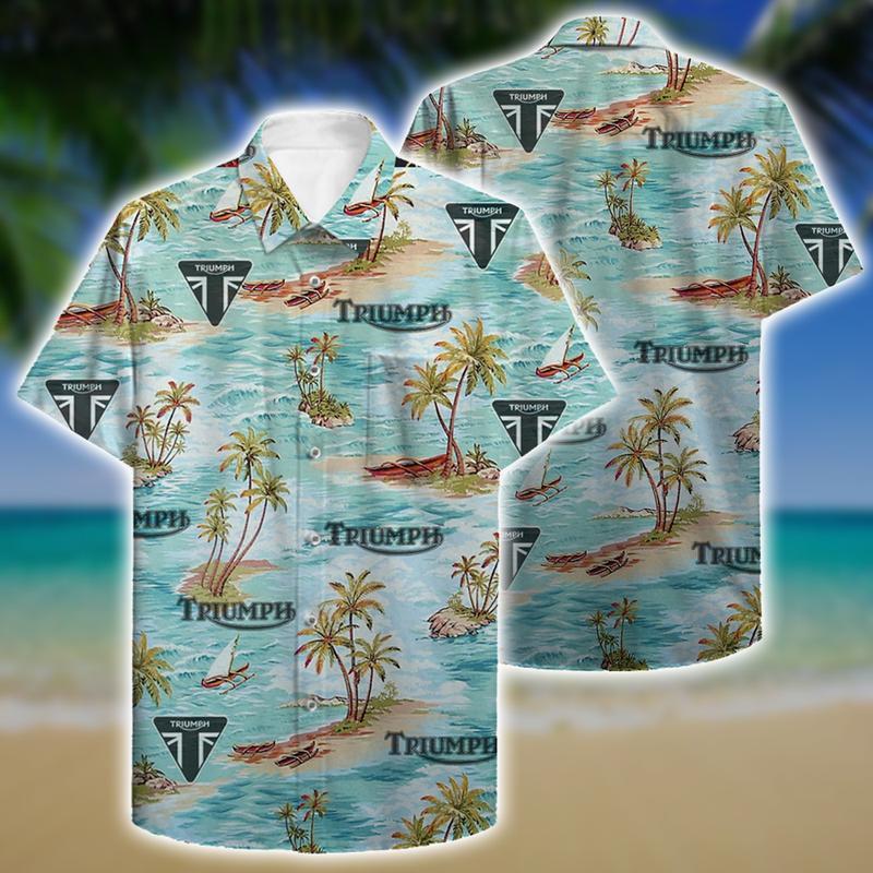 triumph aloha tropical full printing hawaiian shirt 1