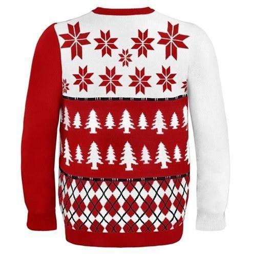 arizona cardinals busy block ugly christmas sweater 3