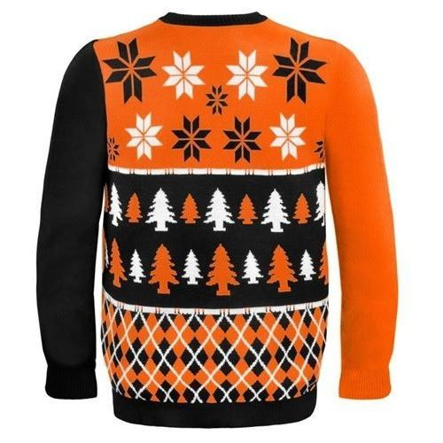 cincinnati bengals busy block ugly christmas sweater 3