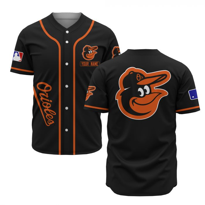 custom name baltimore orioles baseball shirt 1