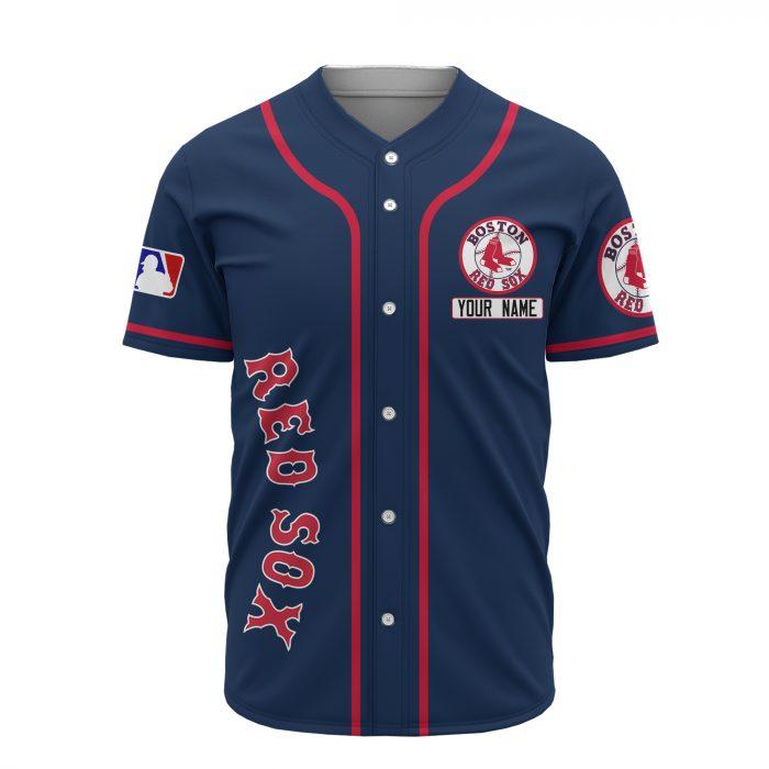 custom name boston red sox baseball shirt 3