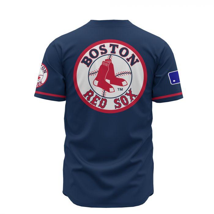 custom name boston red sox baseball shirt 4