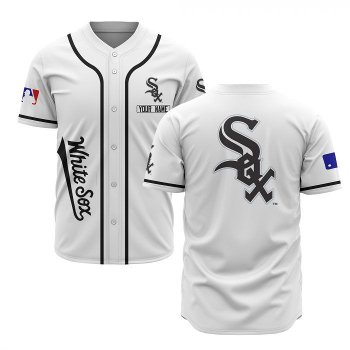 custom name chicago white sox baseball shirt 2