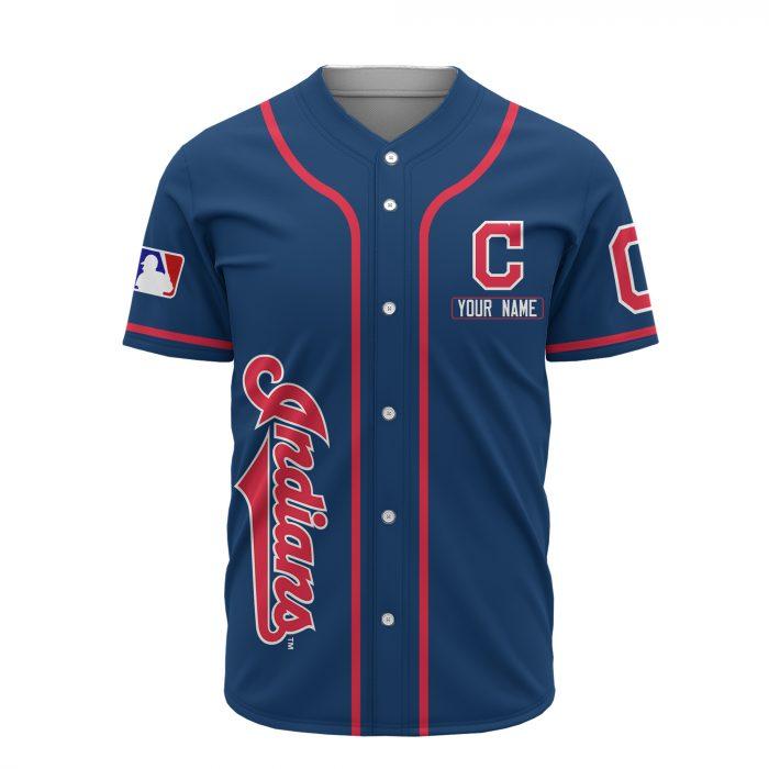 custom name cleveland indians baseball shirt 3