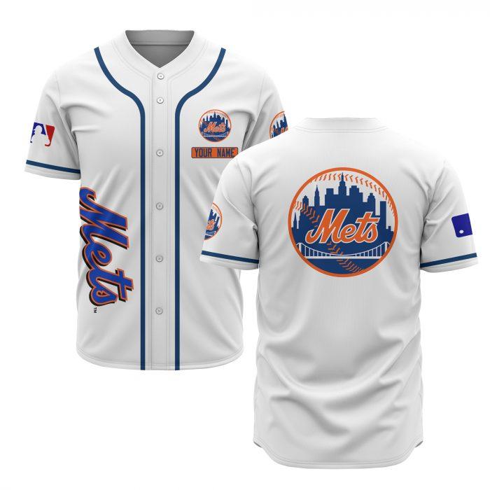 custom name new york mets baseball shirt 2