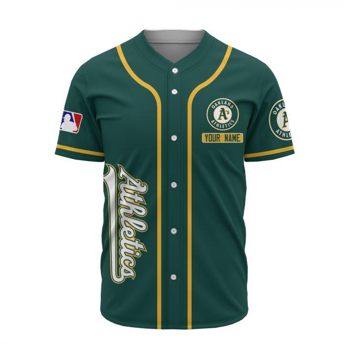 custom name oakland athletics baseball shirt 3