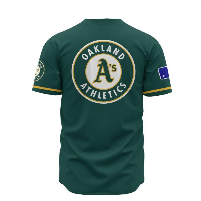 custom name oakland athletics baseball shirt 4