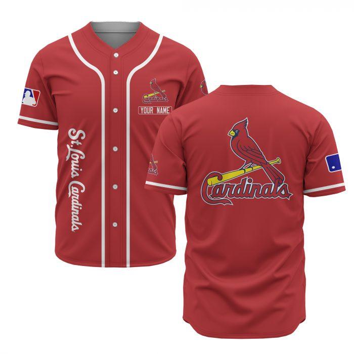 custom name st louis cardinals baseball shirt 2