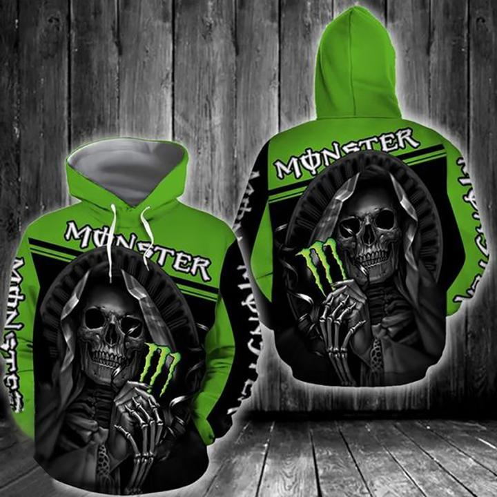 death skull fox racing motocross racing full printing hoodie 1