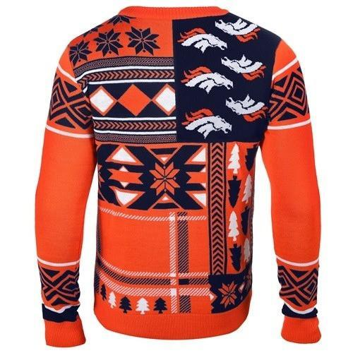 denver broncos patches ugly christmas sweater 3 - Copy