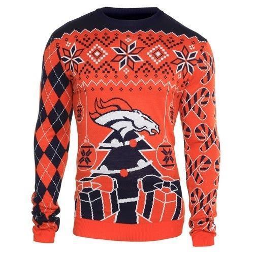 denver broncos ugly christmas sweater 1
