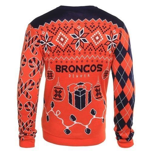 denver broncos ugly christmas sweater 3