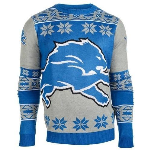 detroit lions national football league ugly christmas sweater 2