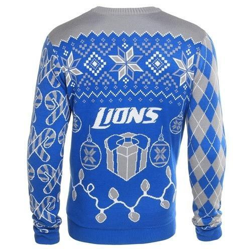 detroit lions ugly christmas sweater 3