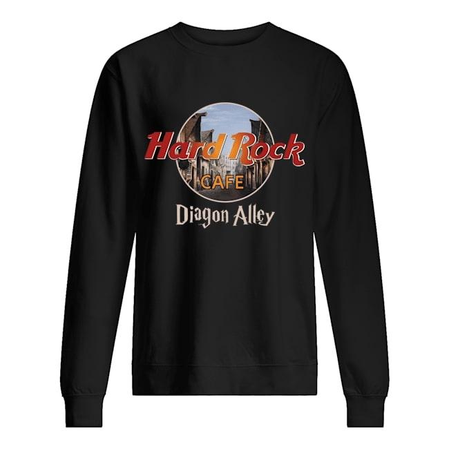 diagon alley hard rock cafe sweatshirt