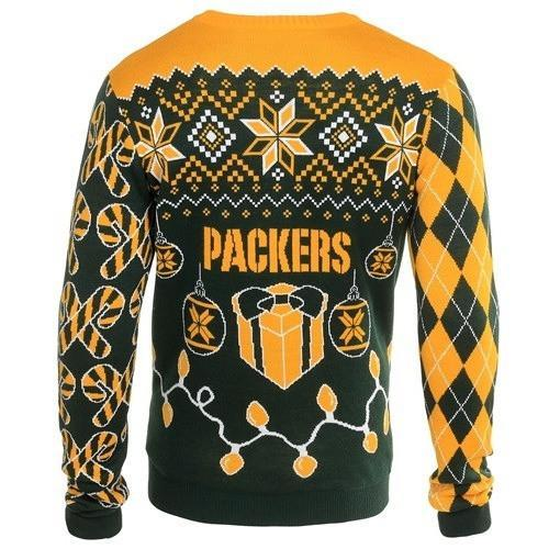 green bay packers holiday ugly christmas sweater 3