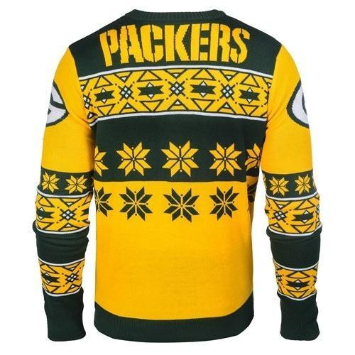 green bay packers ugly christmas sweater 3